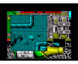 Mister GAS (1990, MSX, Xortrapa Soft)