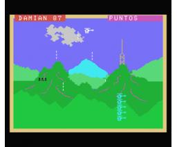 Misión de combate (1984, MSX, Ace Software S.A.)