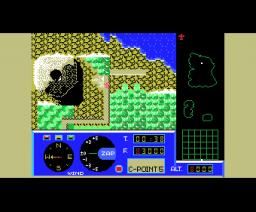 Glider (1985, MSX, ZAP)
