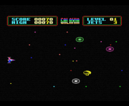 Galaxia (1985, MSX, Steven Wallis, Sean Wallis)