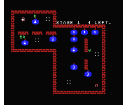 Dinamitero (1986, MSX, Grupo de Trabajo Software (G.T.S.))