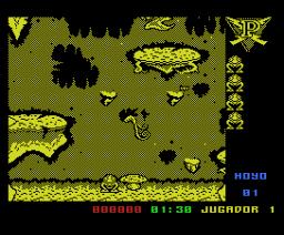 Poogaboo: La Pulga 2 (1991, MSX, Opera Soft)