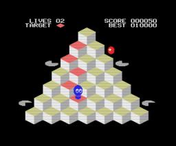 Quebert (1988, MSX, Eurosoft)