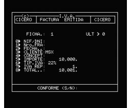 IVA Practico 2 - Facturas IVA (MSX, Cicero S.A.)
