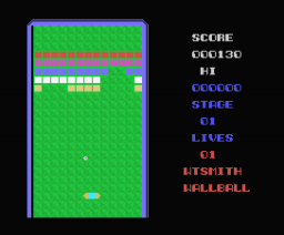 Wallball (MSX, Tynesoft)