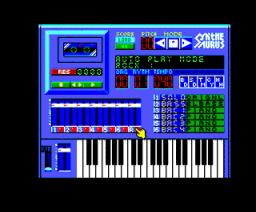 Synthe Saurus Ver. 1.1 (1988, MSX, MSX2, Bit²)