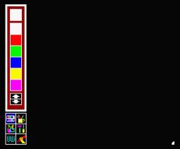 Uni Paint (1986, MSX2, Matsushita Electric Industrial)
