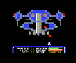 Space Camp (1986, MSX, Pack-In-Video)