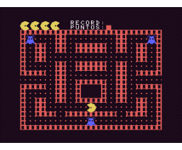 Come-Cocos (1985, MSX, Infopress)