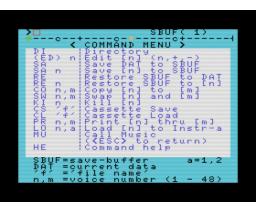 FM Voicing Program (1983, MSX, YAMAHA)