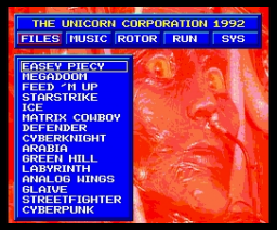 Cyber (1992, MSX2, Unicorn Corporation, The)