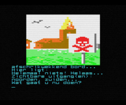 De Sekte (1987, MSX2, Radarsoft)