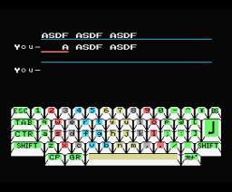 Keyboard Master (1984, MSX, Konami)
