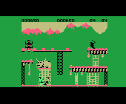 Bruce Lee (1985, MSX, Datasoft Inc.)