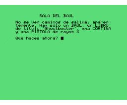 La Casa Maldita (1986, MSX, Infopress)