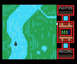 Patrullera XH-63 (1987, MSX, Genesis Soft, A.G.D.)