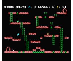 Jake in the Caves (1986, MSX, S.V.L. Software)