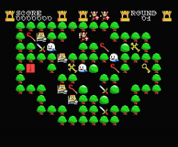 Griel's Quest for the Sangraal (2005, MSX, Karoshi)