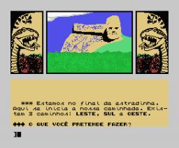 A Lenda da Gávea (1988, MSX, Renato Degiovani, Luiz F. Moraes)