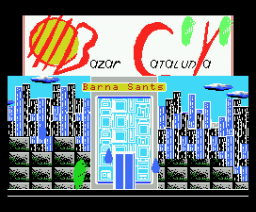 The Visitor (1988, MSX, Bazar Catalunya)