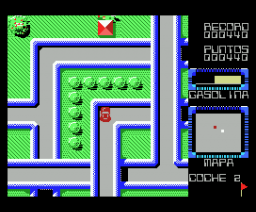 Race City (1988, MSX, Genesis Soft)