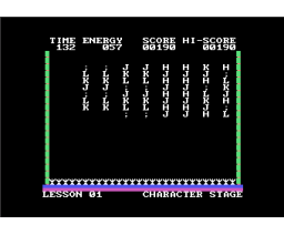 Typing Vader (1984, MSX, Policy)