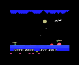 DangerX4 (1984, MSX, ASCII Corporation)