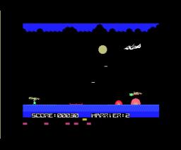 DangerX4 (1984, MSX, ASCII)