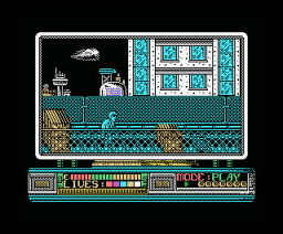 Rescate en el Golfo (1990, MSX, True Software)