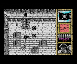 Black Beard (1988, MSX, Topo Soft)
