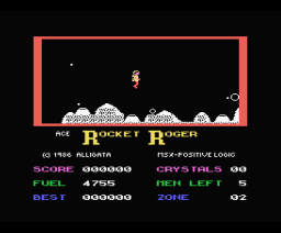 Rocket Roger (1986, MSX, Alligata)