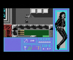 Moonwalker - The Computer Game (1989, MSX, US Gold)
