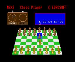 The Chess Player (MSX2) (1988, MSX2, Eurosoft)