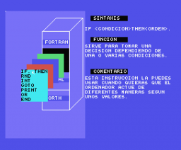 Curso de BASIC (1985, MSX, Indescomp)