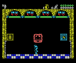 Las Tres Luces de Glaurung (1986, MSX, Erbe Software)