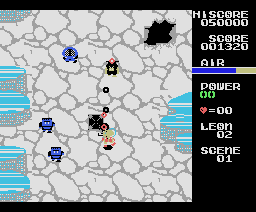 Yami no ryu ou Hades no monshou (Crest of the Dragon King Hades of Darkness) (1986, MSX, Casio)