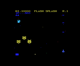 Flash Splash (1984, MSX, Isoco)