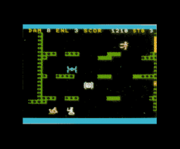 Gaia (1986, MSX, Samson Software)