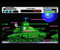 Vortex Raider (1988, MSX, Eurosoft)