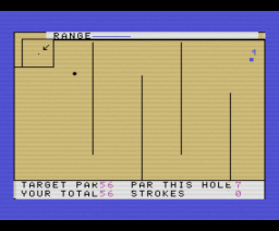 Crazy Golf (1984, MSX, Mr. Micro)