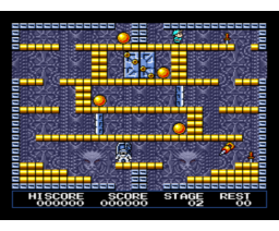 King's Valley II - The Seal of El Giza (1988, MSX2, Konami)