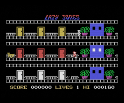 Lazy Jones (1985, MSX, Terminal Software)