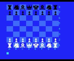 Sajedrez (1985, MSX, J. Serena)