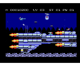 Retaliator (1994, MSX2, MGF)