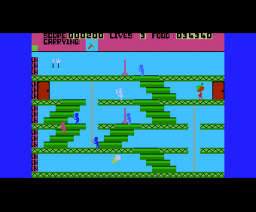 Les Flics (1985, MSX, PSS)