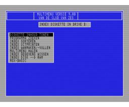 Multi Menu (1990, MSX2, Club van Zes)