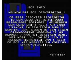 BCF Disk Station #1 (1990, MSX2, BCF)