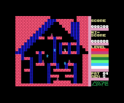 Super Drinker (1983, MSX, Ample Software)