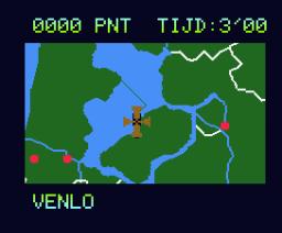 Topografie Nederland (1986, MSX2, Radarsoft)