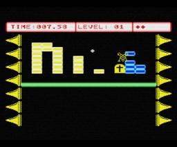 Bounce (1987, MSX, Methodic Solutions)